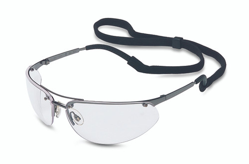 Uvex Fuse Safety Glasses. Available in Clear Lens, Anti-scratch Gunmetal Frame. Shop now!