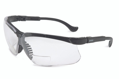 Uvex Genesis Reading Magnifiers. Available in Black Frame, Clear Ultra-dura Lens. Shop Now!
