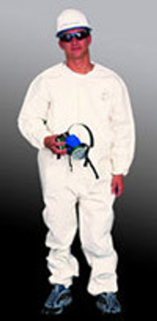 Sunrise Industries SMP125 Microporous Coverall Elastic Wrist and Ankle - 25 Each