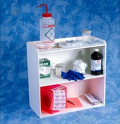 AK-503-W 3Tier Laboratory Shelf White. Shop now!