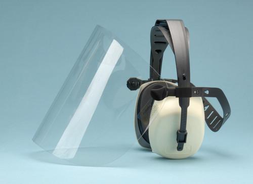 Elvex HB-3000 CoolGuard Ear Muff with Lexan Face Shield. Shop Now!