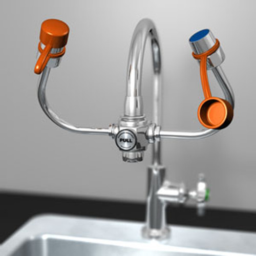 Guardian G1101 EyeSafe-X Faucet Mounted Eyewash