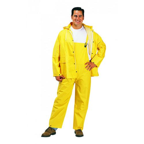 3 Piece PVC Polyester Rainsuit. Shop Now!