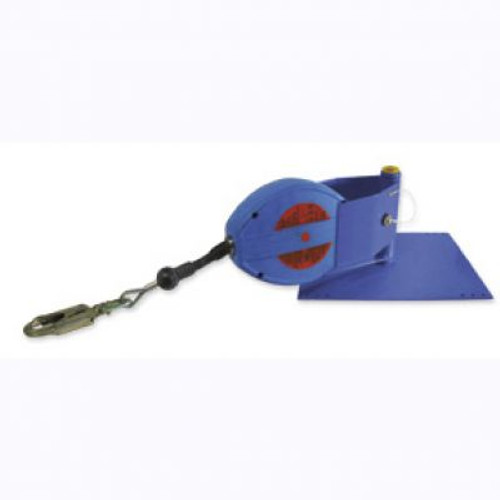 Fallstop N640/5 Flat Metal Roof Anchor with 50 FT Blocfor Lifeline. Shop now!