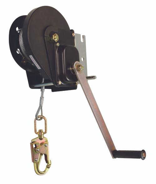 FallTech 7295 Personnel Winch 120 Ft with Galvanized Cable. Shop Now!