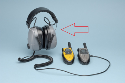 Elvex COM-612 Plug-In Electronic Ear Muff with 100 dB Limiter and 0 NRR. Shop Now!