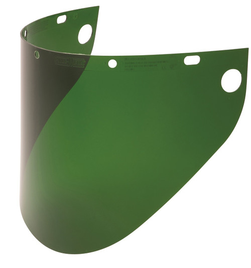 Fibre Metal 4199DGN Dark Green Faceshield Window Extended View. Shop now!