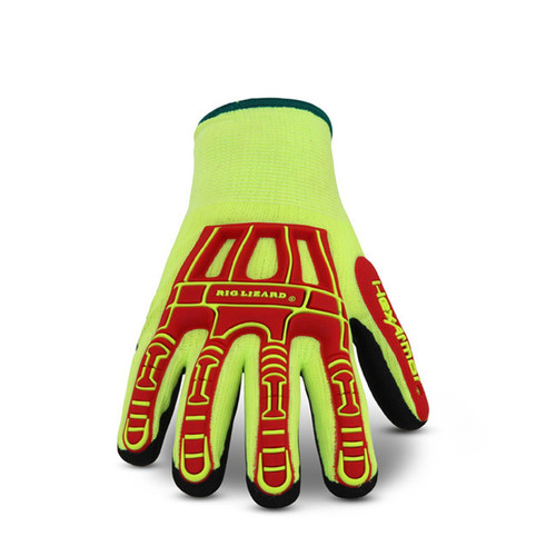 Top View. HexArmor 2091 Thin Lizzie Rig Lizard Thermal Heavy Duty Gloves. Shop Now!