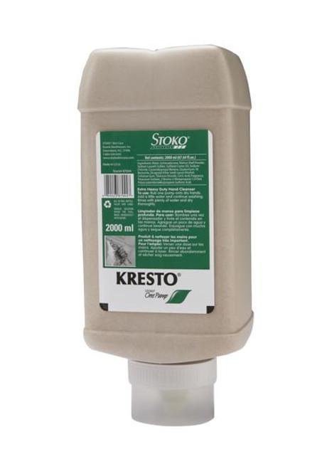 Kresto 98704406 2000mL One Pump Bottle Classic Hand Cleanser. Shop now!
