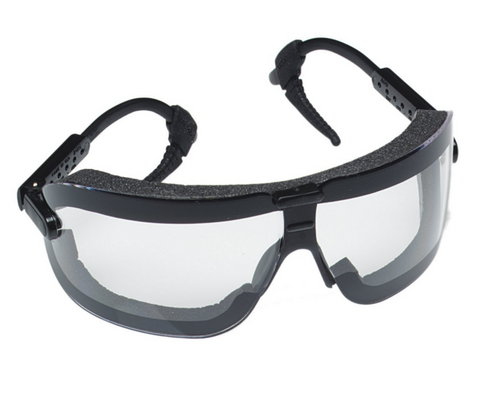 3M 16420-00000 Fectogoggles w/ Clear Lens and Black Adjustable Temples. Shop now!
