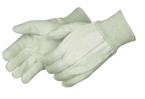 8 oz Cotton Canvas Work Gloves - Small. Shop Now!