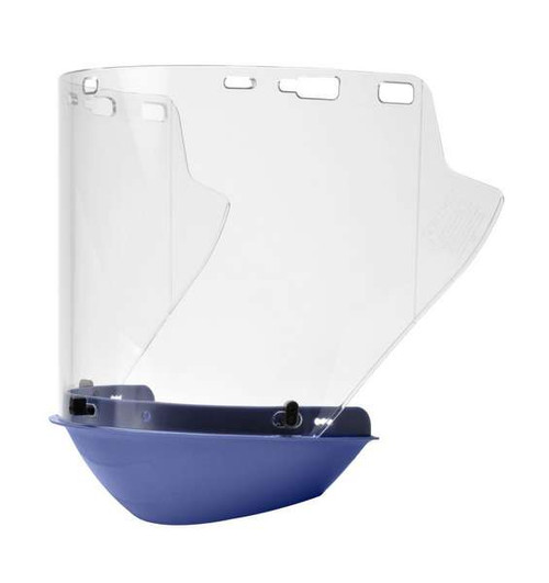 Elvex FS-18L-CP Clear Molded Lexan Face Shield with Chin Protector. Shop Now!