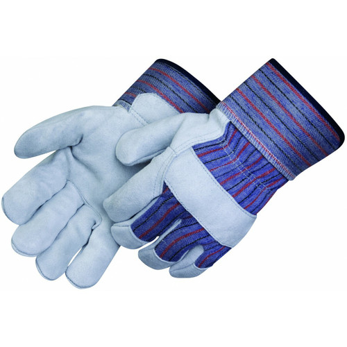 Leather Palm Work Gloves Safety Cuff. Shop Now!