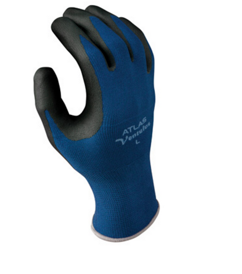 Showa Atlas Ventulus Nitrile Palm Coated Gloves. Shop now!