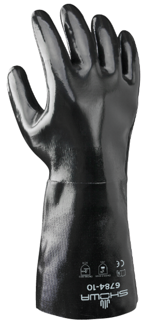 Showa 6784-10 Neoprene Coated Chemical Resistant Gloves. Shop Now!