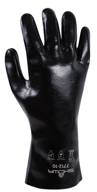 Showa 7712-10 Black Knight Chemical Resistant Gloves. Shop Now!