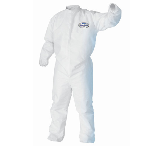 KleenGuard A30 Elastic Wrists and Ankles Protection Coveralls - 25 Each