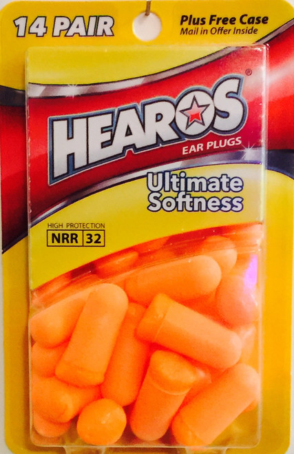 HEAROS 5210 14-pair NRR 32 Disposable Earplugs