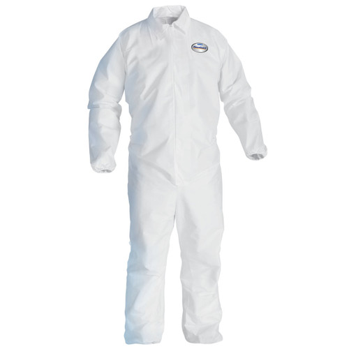 KleenGuard A40 Elastic Wrists and Ankles Protection Coveralls -  25 Each