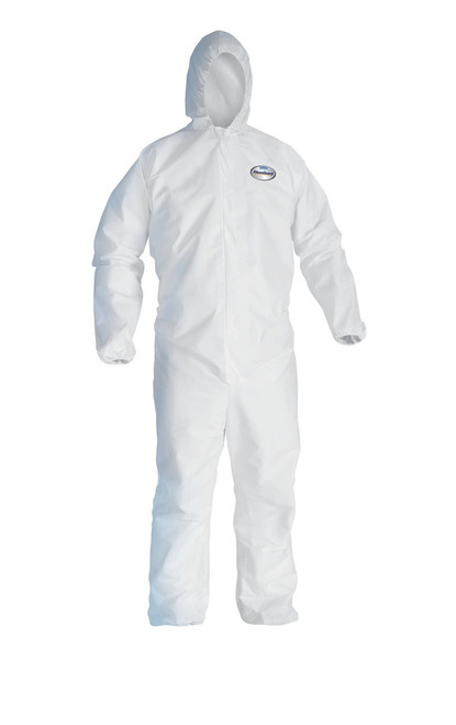 KleenGuard A40 Hooded Protection Coveralls - 25 Each