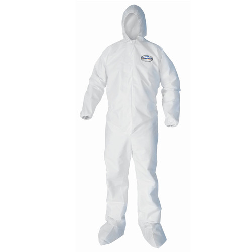 KleenGuard A40 Hooded and Booted Protection Coveralls - 25 Each