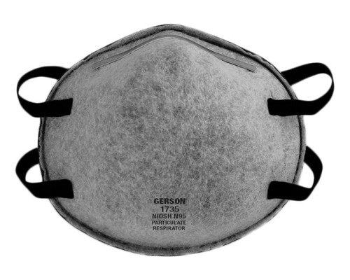 Gerson 1735 N95 Particulate Respirator w/ OV-AG Nuisance Relief (Made in USA) Gerson Category Number 081735. Shop now!