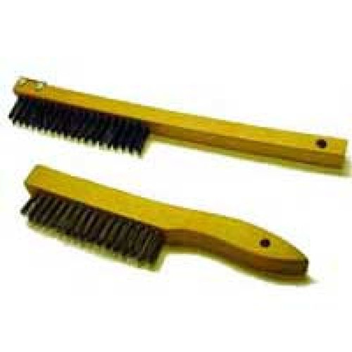 """4"""" X 16"""" Stainless Steel Wire Brush with Scraper. Shop Now!"""
