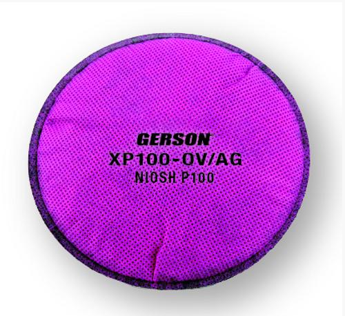 Gerson XP100-OVAG P100/Organic Vapor/Acid Gas Pancake Disc with Gerson Category Number 08XP100-OV/AG. Shop now!