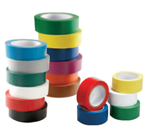 """INCOM 4"""" x 180' Aisle Marking Conformable Tape"""