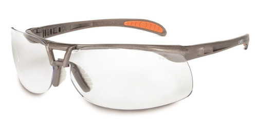 Uvex Protege Safety Eyewear Sandstone Frame. Available in Ultra-dura Clear Lens. Shop Now!