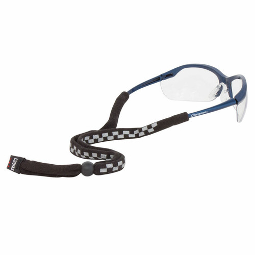 Chums Enhanced Visibility Eyewear Retainers - Black Racer 12301. Shop Now!