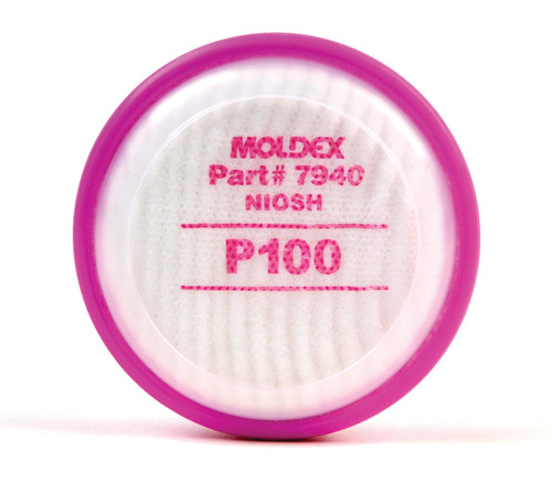 Moldex 7940 P100 Particulate Filter Disks for 7000 Series Half Mask. Shop now!