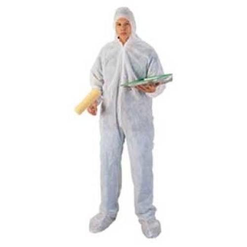 Disposable Coveralls Polypropylene With Hood and Boots Case. Shop Now!