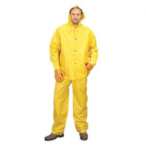 3 Piece PVC Nylon PVC Rain Suit. Shop Now!