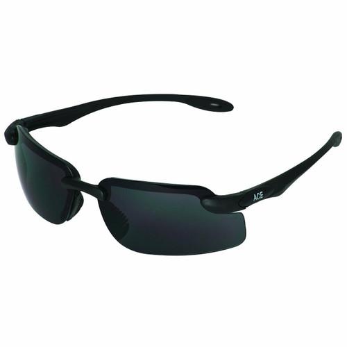 38492 Smoke Lens, Black Frame
