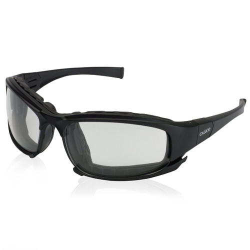 25672 Clear Anti-Fog Lens, Black Frame with Black Temples