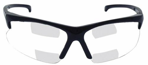 Jackson Safety V60 30-06 Dual Readers Safety Glasses (Black Frame, Clear Lens - +1.5, +2.0, +2.5). Shop now!