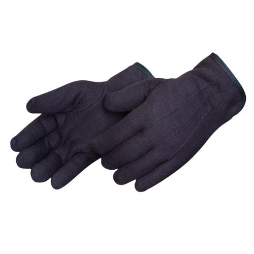 Winter Lined Brown Jersey Gloves. Shop Now!