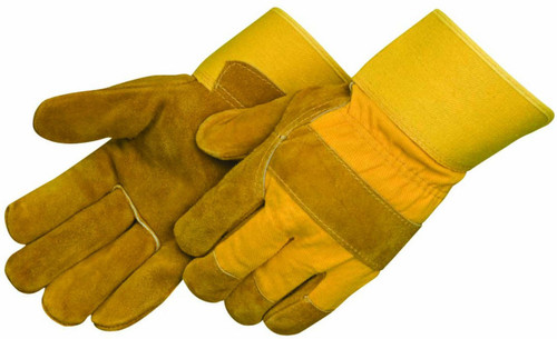 Pile Lined Split Cowhide Leather Palm Gloves. Shop Now!