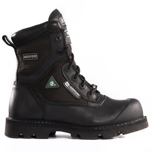 Royer 10-8600 Black Shieldtex FLX Sole Waterproof Metal-Free Boot. Shop now!
