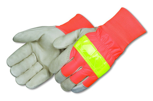 Premium Pigskin Drivers glove with 3M Thinsulate Lining + Scotchlite Reflective Strip. Shop Now!