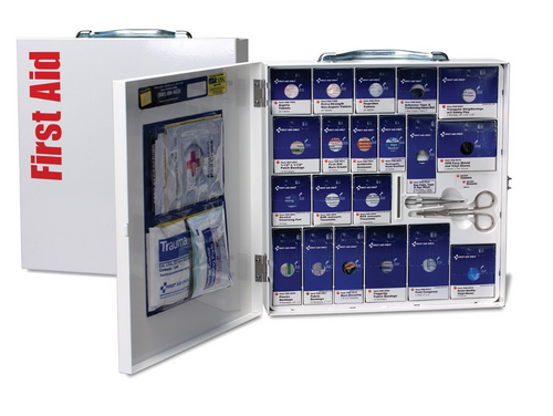 First Aid Only Class A+ Large Metal SmartCompliance First Aid Cabinet. Shop now!