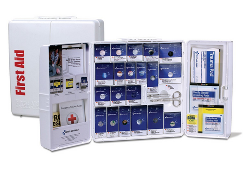 Class A+ Large Plastic SmartCompliance First Aid Cabinet. Shop now!