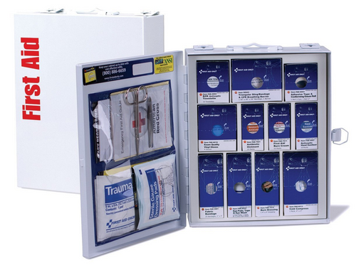Class A Medium Metal SmartCompliance First Aid Cabinet. Shop now!