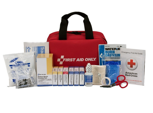 First Aid Only 90594 25 Person Bulk First Aid Kit in a Fabric Case ANSI A Type I & II. Shop now!