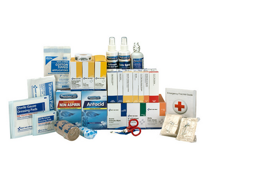 Class A+ 3 Shelf First Aid Station Refill Pack w/ Meds. Shop now!