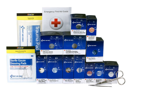 Class A Medium Metal Smart Compliance First Aid Cabinet Type I & II Refill Pack. Shop now!