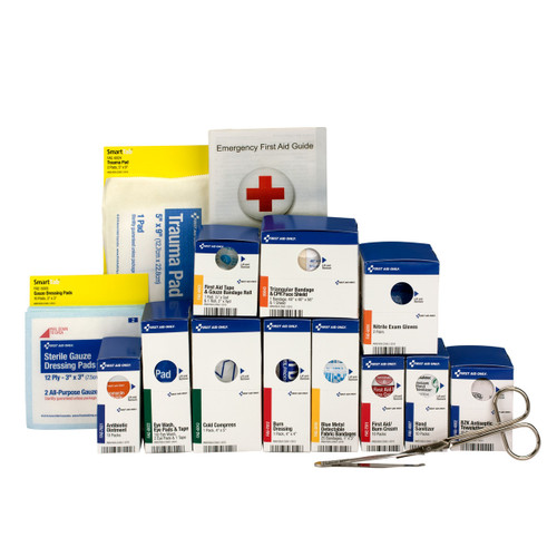 Medium Metal SmartCompliance Food Service First Aid Refill Pack, ANSI A Compliant. Shop Now!