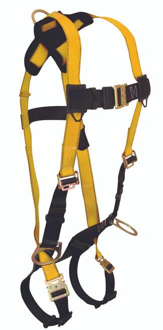 Falltech 7023QC Journeyman 3-D Standard, Non-belted Body Harness . Shop Now!