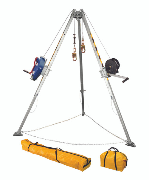 FallTech 7509 60' Confined Space Tripod Kit. Shop Now!